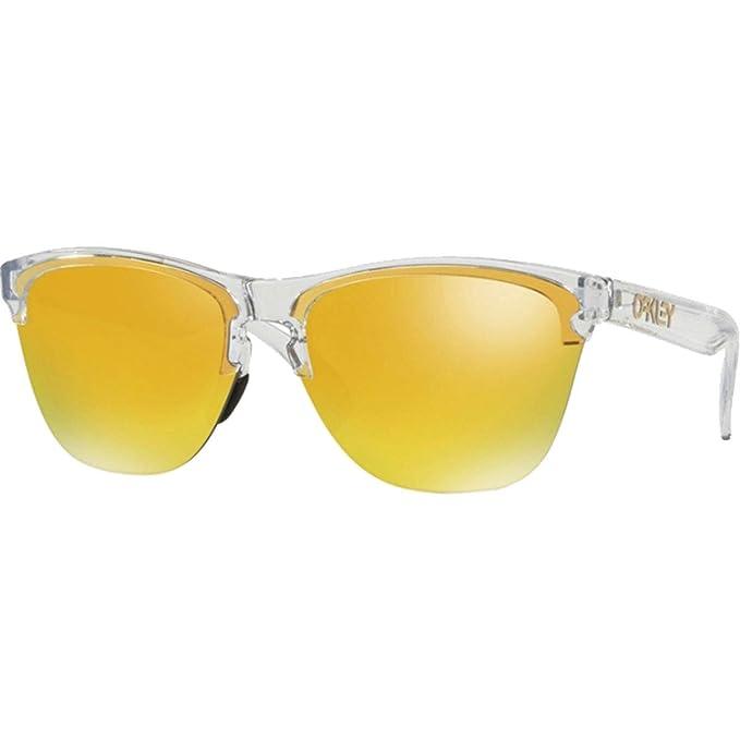 Oakley Frogskins Lite Gafas de sol, Transparente, 63 para ...