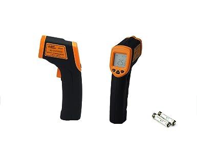 Termómetro de infrarrojos pistola de temperatura láser sin ...