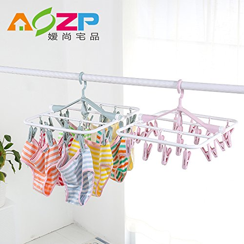 U-emember Multi-Clamp Bracket Hanging Socks Diaper Underwear