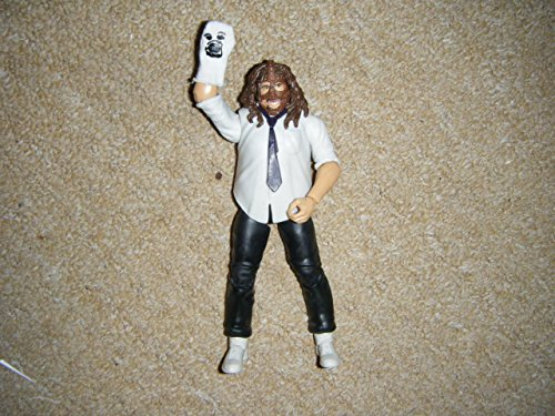 WWE Mankind Elite Series 17 Figure Complete -