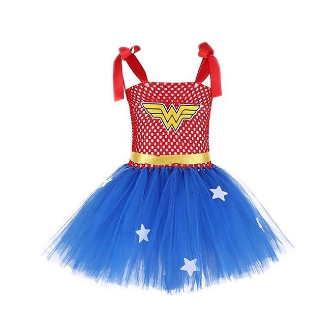 Amazon.com: Wonder Costume, vestido de tutú para bebé/niña ...