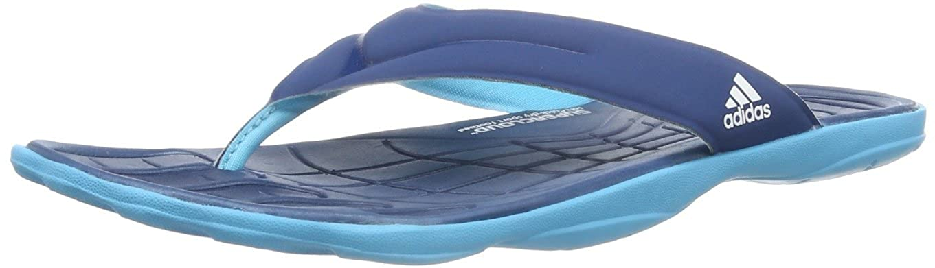 52df922f6553 adidas Mens adiPure Thong SC Shower   Bath Shoes Blue Blau (TRIBE BLUE S14    SAMBA BLUE S14   RUNNING WHITE FTW) Size  36 2 3  Amazon.co.uk  Shoes    Bags