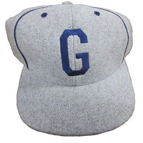 (Vibes Baseball Wool Cap Homestead Greys Honor Historical Negro League Baseball Players Association NLBPA Size S)