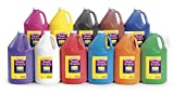Colorations Simply Tempera Paints, Gallons - Set of all 11 (Item # STGAL)