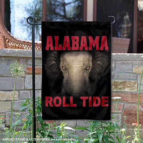 Alabama Crimson Tide Roll Tide Garden Flag and Yard Banner