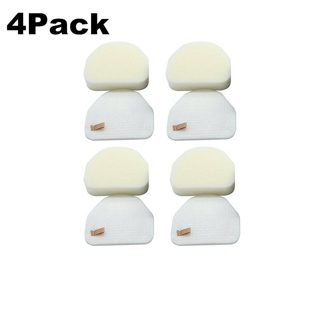 4PK Anewise NV480 & NV450 Replacement Foam & Felt Filter Kits, Part #XFF450. Designed Fit Shark Rocket Nv480 Filters Professional Upright NV480 Vacuums