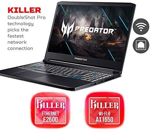 Acer Predator Triton 300 Gaming Laptop, Intel i7-10750H, NVIDIA GeForce RTX 2070 Max-Q, 15.6″ FHD 240Hz 3ms IPS Display, 16GB Dual-Channel DDR4, 512GB NVMe SSD, WiFi 6, RGB Backlit KB, PT315-52-73WT 511FELgmyOL