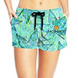 Mexican Style Women's Summer Beach Shorts Quick Dry Boardshort Swim Surf Trunks