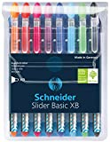 Best Cheap Pens - Schneider Slider Basic XB Ballpoint Pen, Set of Review