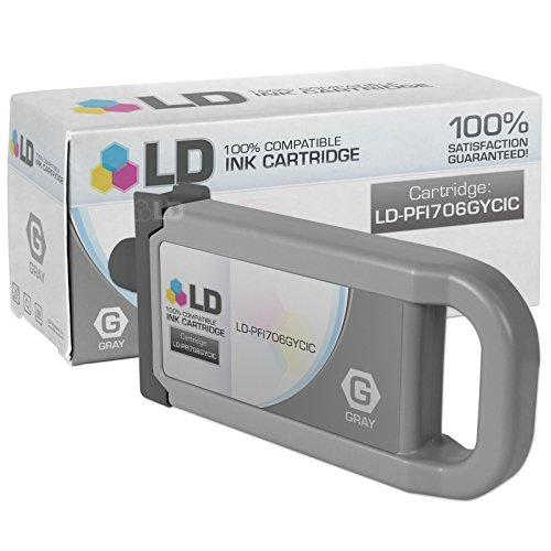 Compatible Replacement for Canon PFI-706GY Gray Ink Cartridg