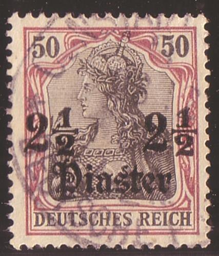 Goldhahn Deutsche Post in in in der Türkei Nr. 42y gestempelt Briefmarken für Sammler 4c6e21