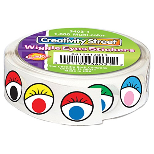 Creativity Street Stickers Multicolor 1000 Pack