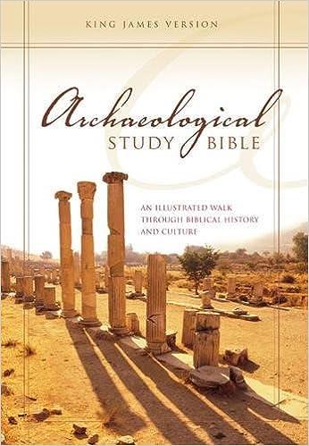 KJV, Archaeological Study Bible, Hardcover: An Illustrated Walk
