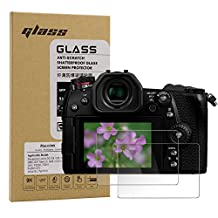 Macolink Tempered Glass Screen Protector for Panasonic Lumix DC-G9 G8 G7 DMC-GX7 Mark II GX8 LX10 LX9 FZ300 FZH1 / Fujifilm X70 / Leica SL (Typ 601) (2 Pack)