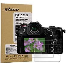 Macolink Tempered Glass Screen Protector for Panasonic Lumix DC-G9 G8 G7/DMC-GX7 Mark II/GX8 LX10 LX9 FZ300 FZH1/Fujifilm X70/Leica SL (Typ 601) (2 Pack)
