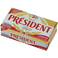 President Unsalted Butter, 1.1 Pound - 20 per case.