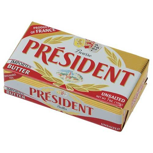 President Unsalted Butter, 1.1 Pound - 20 per case. by President