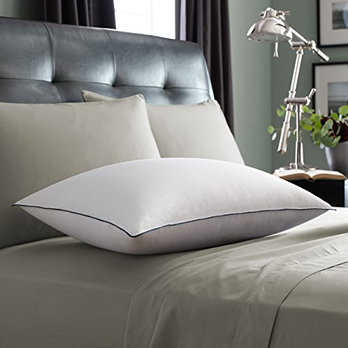 Pacific Coast Luxury Down Pillow 680 Thread Count 700 Fill Power White Goose Down Machine Wash & Dry - King