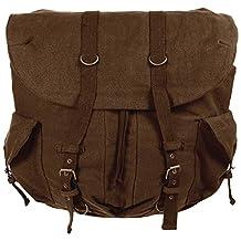 Vintage Weekender Backpack by Rothco in Brown