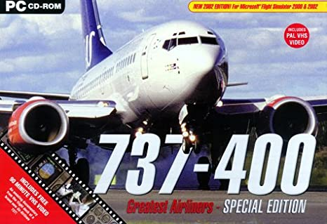737-400 Professional (Add on for Flight Sim) (PC): Amazon co