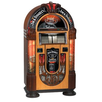 - Jack Daniel's Nostalgic Bubbler CD Jukebox