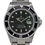 Rolex Submariner Swiss-Automatic Male Watch 16610 (Certified Pre-Owned)