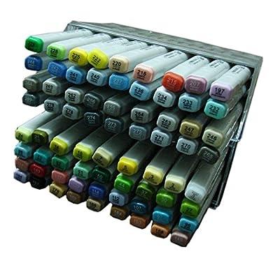 Lanxivi Finecolour Sketch Marker Pen 72 Colors Oil Base Set Artist Necessary Work Supplier