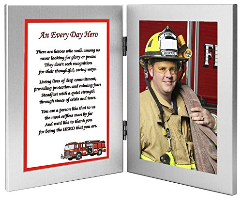 Fireman Gift Frame – Special Firefighter Gift - Add Photo