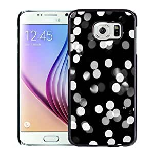 New Personalized Custom Designed For Samsung Galaxy S6 Phone Case For Black and White Bokeh Phone Case Cover
