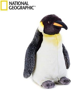 National Geographic - 8004332707240 - Peluche Pingüino: Amazon.es: Juguetes y juegos