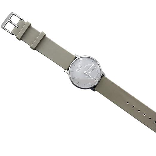 92 opinioni per Cinturino per orologio Pinhen, 18mm, in silicone, mesh, acciaio inox,