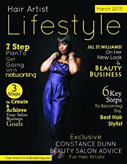 Hair Artist Lifestyle Magazine (March 2013) by [Howard, Charlotte ]