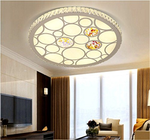 Lilamins Creativeled Acrylic Ceiling Lamp Housing Round Study LampCeiling Lights for Hallway, Aisle, Porch, BedroomCeiling Lights for Hallway, Aisle, Porch, Bedroom,530Mm by Lilamins