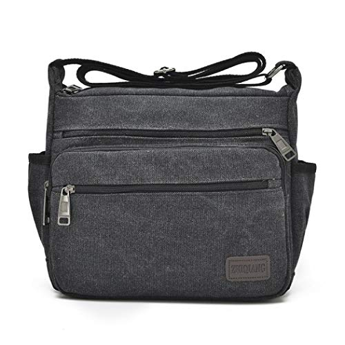 Men's Deep Coffee Black Color Mangetal One Size Top Bag handle dXwzRxqIB
