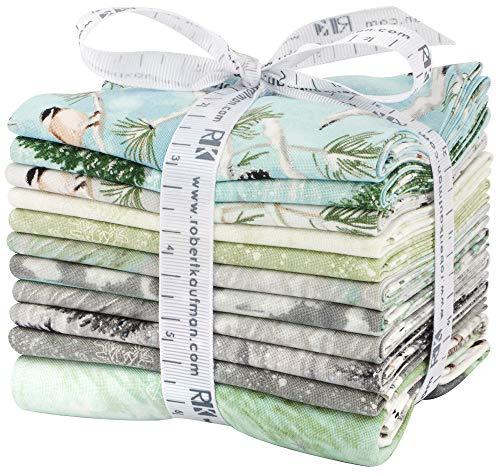 Winter White:Solstice Winter Colorstory 11 Fat Quarter Bundle by Lynnea Washburn for Robert - Christmas Batik