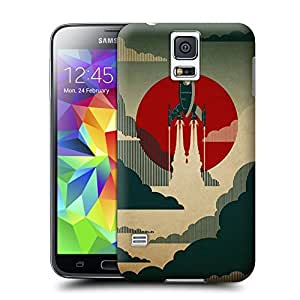 Unique Phone Case Exquisite art pattern The Voyage Hard Cover for samsung galaxy s5 cases-buythecase