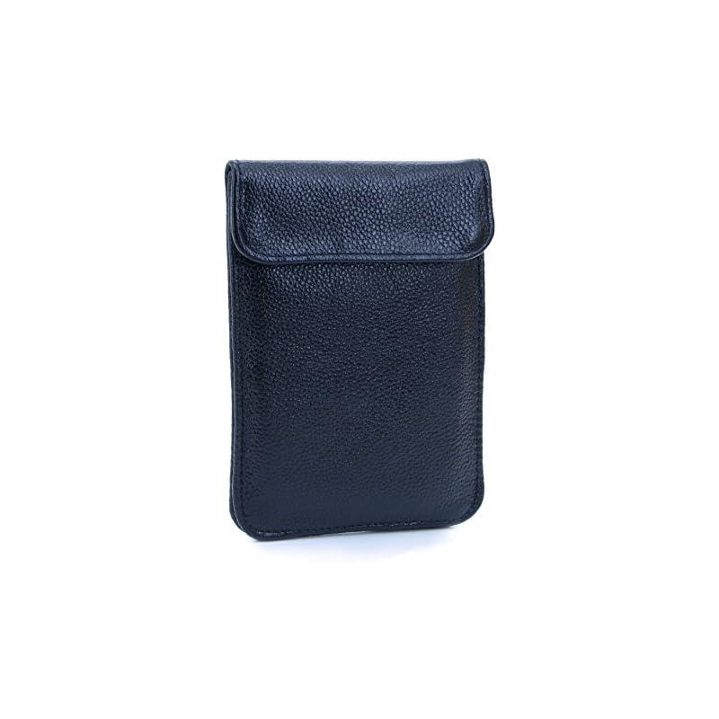 U-TIMES Leather RFID Cell Phone Signal B