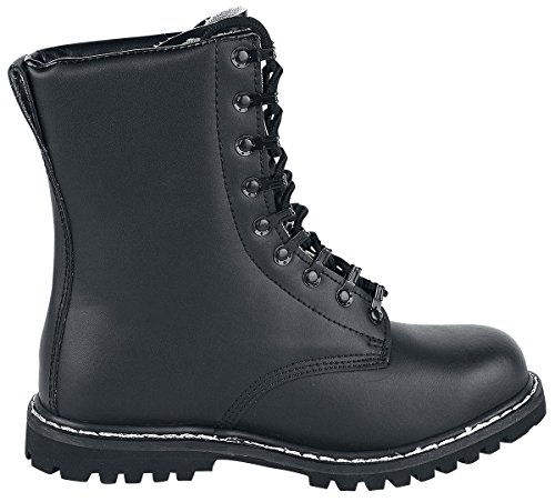 Brandit Negro Militares Botas Botas Negro Para rngXwx7rTq