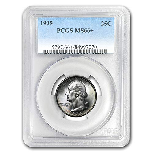 1935 Washington Quarter MS-66+ PCGS Quarter MS-66 PCGS