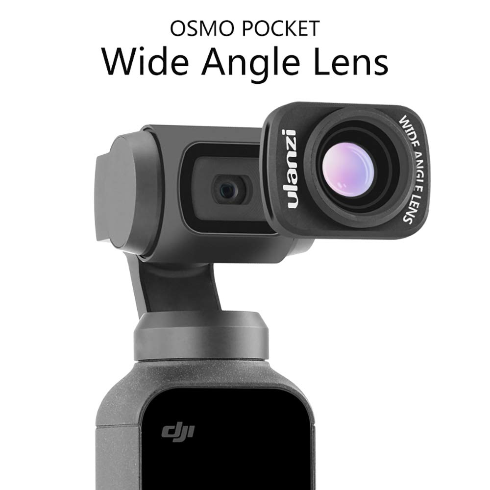 ZUCRQ OP-5 18MM Wide Angle Lens with Magnetic Structure Compatible for DJI OSMO Pocket by ZUCRQ