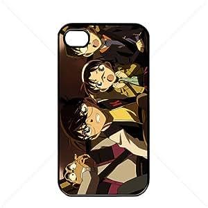 Detective Conan Manga Anime Comic Apple iPhone 6 plus 5.5 TPU Soft Black or White case (Black)