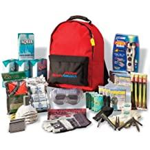 Ready America 70385 Deluxe Emergency Kit 4 Person Backpack
