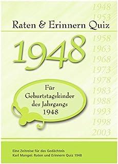 1948 Ein Ganz Besonderer Jahrgang Zum 70 Geburtstag Jahrgangs