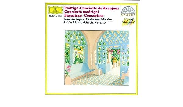 Bacarisse: Concertino para guitarra y orquesta en la menor ...