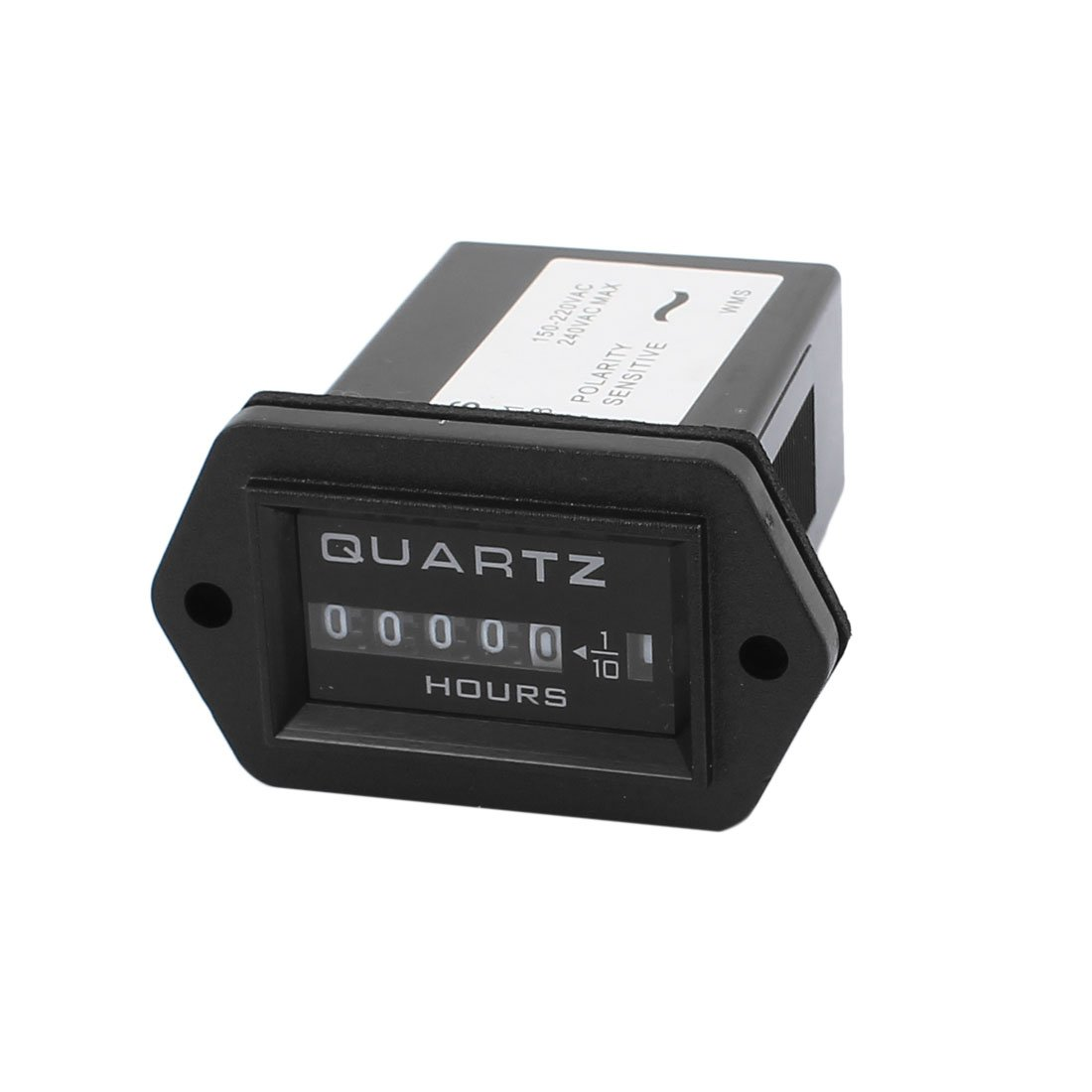 sourcing map SYS AC150V-220V Quartz industriel accumulent /élecro noir minuteur cumulatif