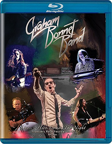Blu-ray : Graham Bonnet Band - Live Here Comes The Night (Blu-ray)