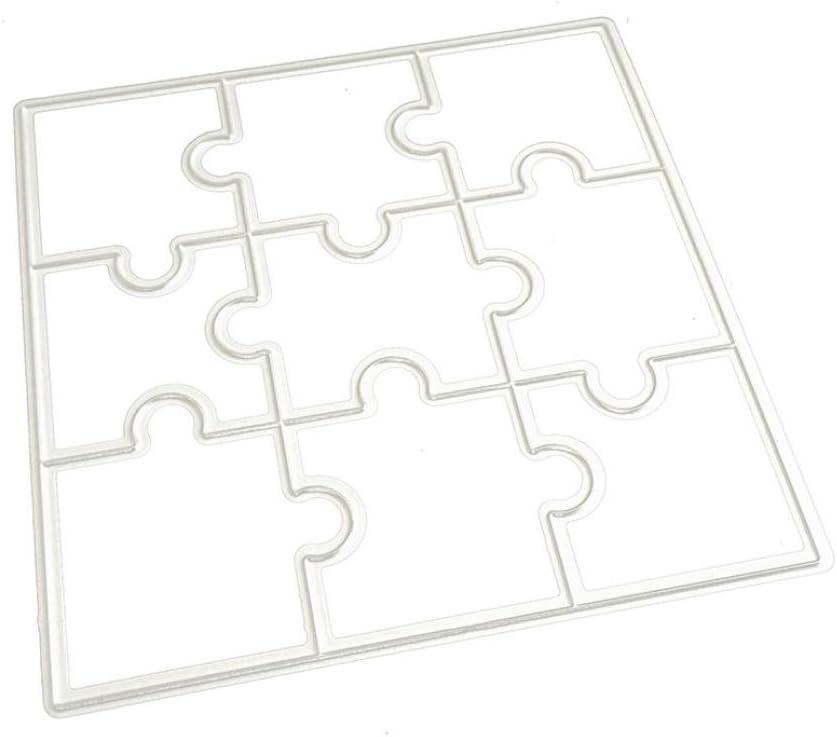 Grande 25,4/cm quadrati tessuto fustella Go