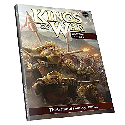 Kings of War - 2nd Edition Rulebook - Gamer's Edition (soft cover) from Mantic Games