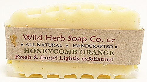 Honeycomb Orange Natural Soap Bar -