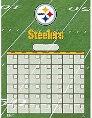 Turner Perfect Timing Pittsburgh Steelers Jumbo Dry Erase Sports Calendar (8921020)